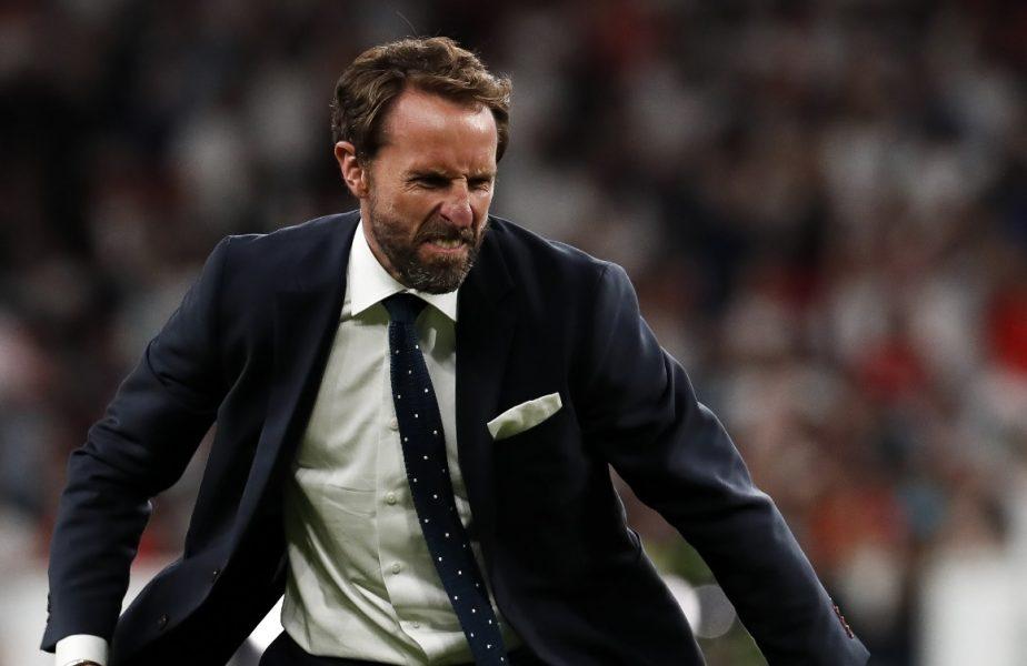 Anglia – Danemarca 2-1 (d.p.) | Reacţia lui Gareth Southgate după calificarea scandaloasă în finala Euro 2020