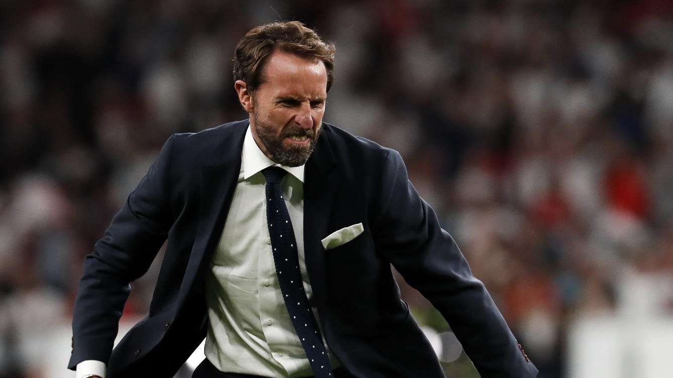 Anglia - Danemarca 2-1 (d.p.)   Reacţia lui Gareth Southgate