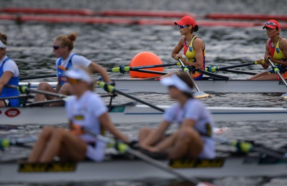 Jocurile Olimpice 2020 | Ionela Cozmiuc și Gianina Beleagă, pe locul 6 în finala de dublu vâsle feminin