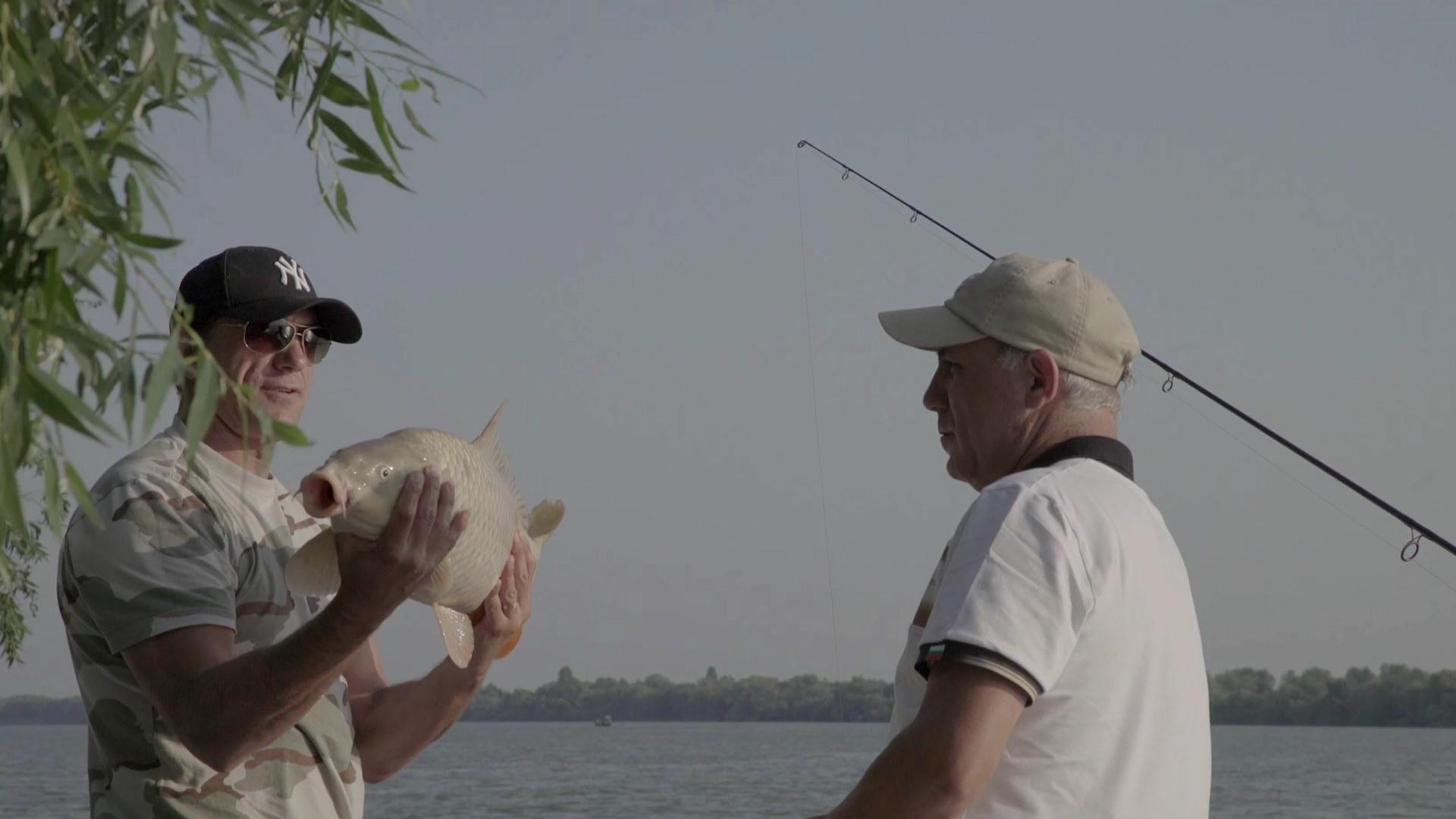 Hristo Stoichkov s-a întrecut cu Gică Popescu la pescuit