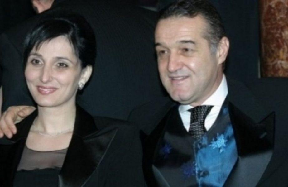 Gigi Becali şi soţia sa