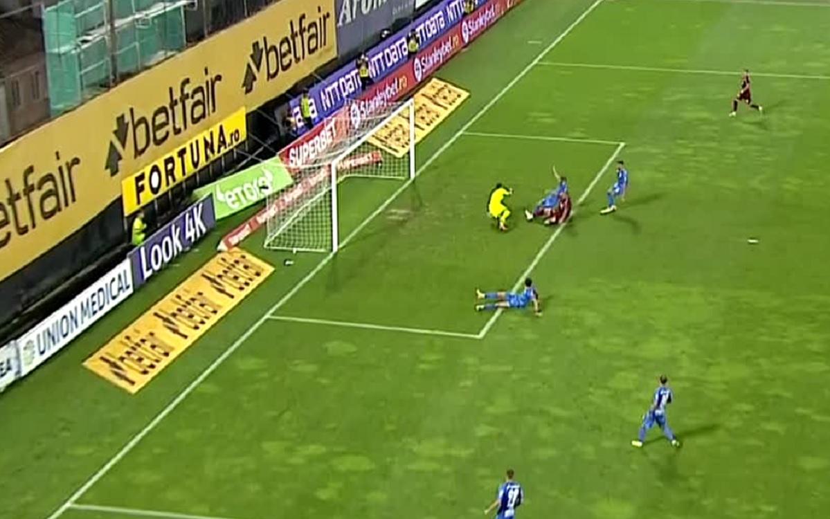 Denis Alibec, primul gol în tricoul lui CFR Cluj