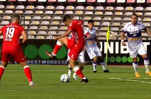 UTA a învins-o cu 1-0 pe FC Argeş, cu un gol cu călcâiul