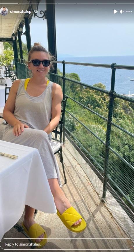 Simona Halep, vacanță de vis cu Toni Iuruc
