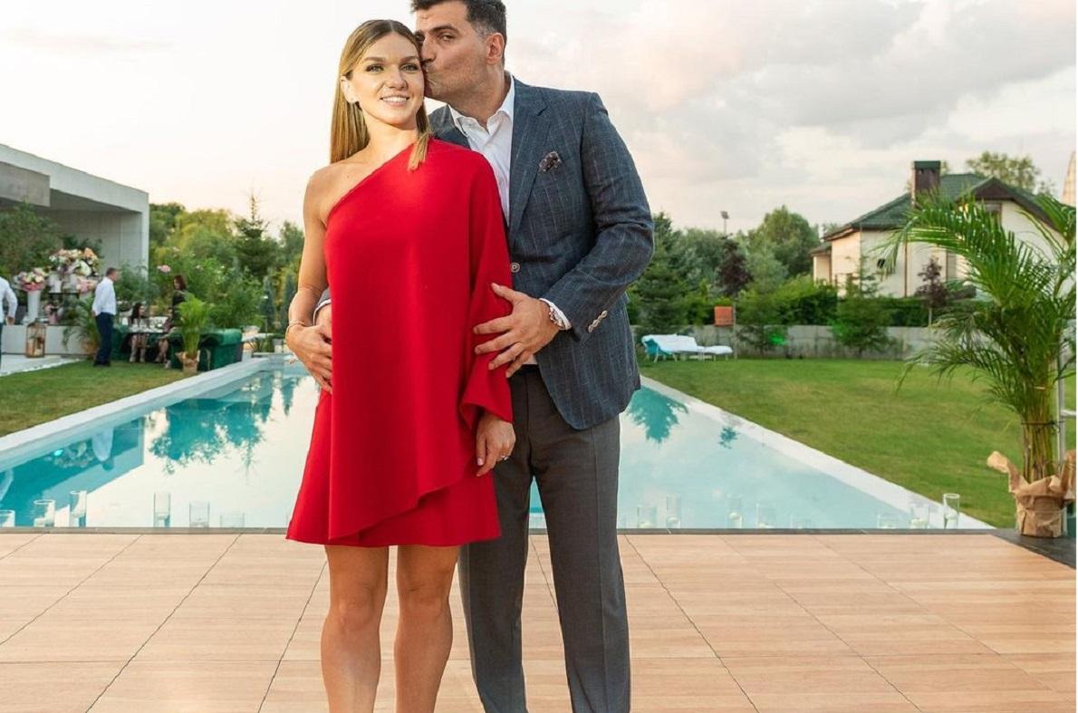 Simona Halep şi Toni Iuruc, la petrecerea de la Izvorani