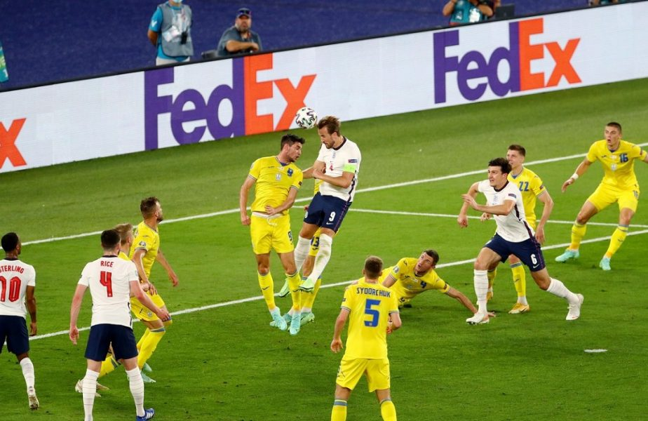 "Harry Kane, ""dublă"" cu Ucraina"