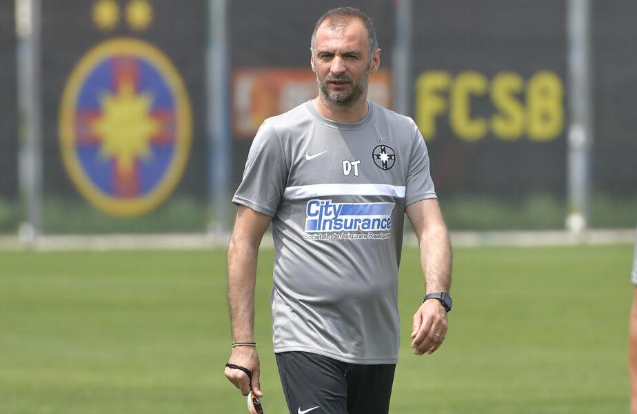 """Nu iese din vorba lui Becali! Todoran, mesaj clar pentru jucători: """"Dacă nu arăți în 34 de minute, arăţi meciul următor!"""" Care este treaba tehnicianului de la FCSB"""