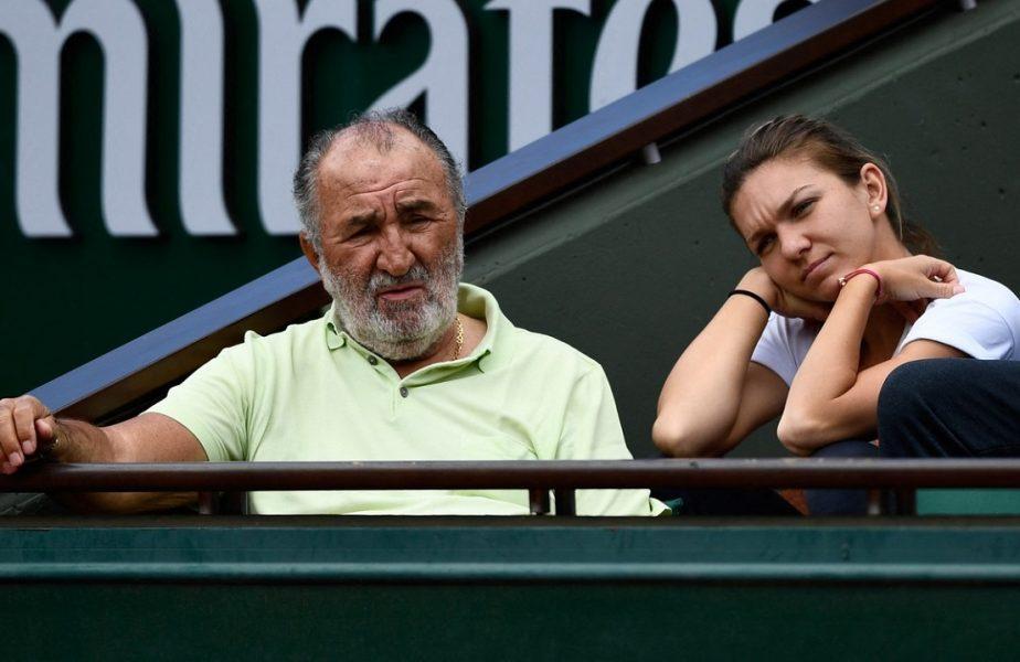 Ion Ţiriac şi Simona Halep, în tribune, la Roland Garros / Profimediaimages