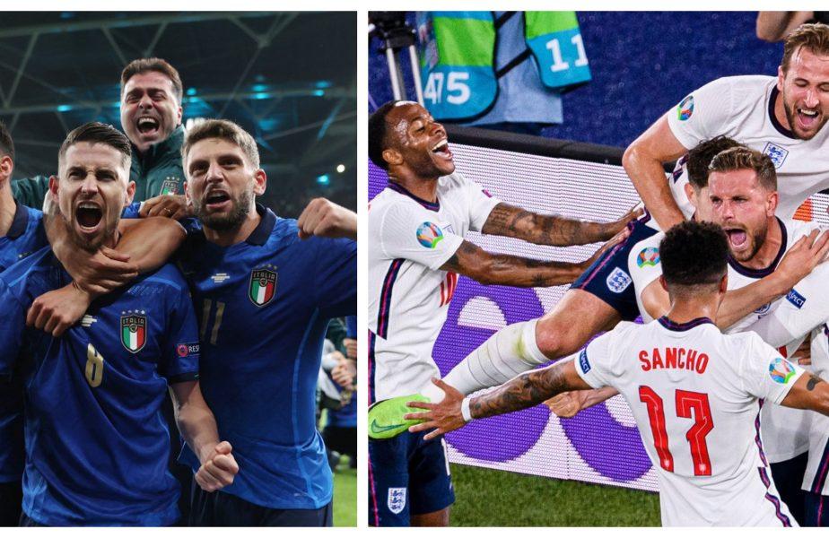 EURO 2020 | Italia – Anglia are o miză uriaşă! UEFA acordă premii colosale. Cât va încasa câştigătoarea trofeului + Scenariul care îi poate îmbogăţi pe români