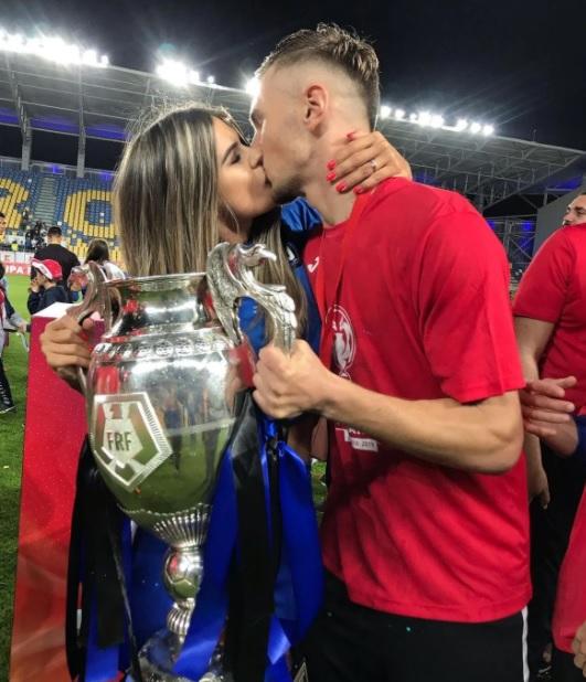 Denis Drăguş şi Vanessa Mara / Facebook