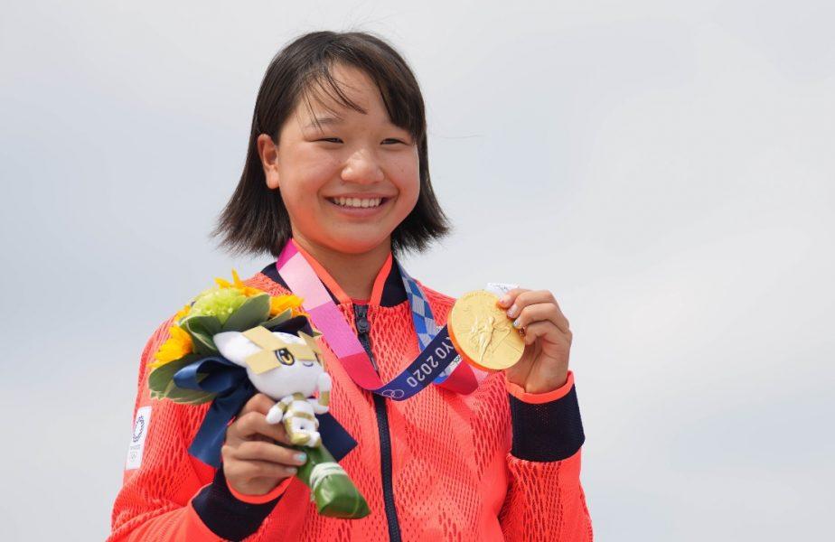 Jocurile Olimpice 2020 | Moment uluitor la Tokyo! A devenit campioană olimpică la doar 13 ani. Podium pentru istorie