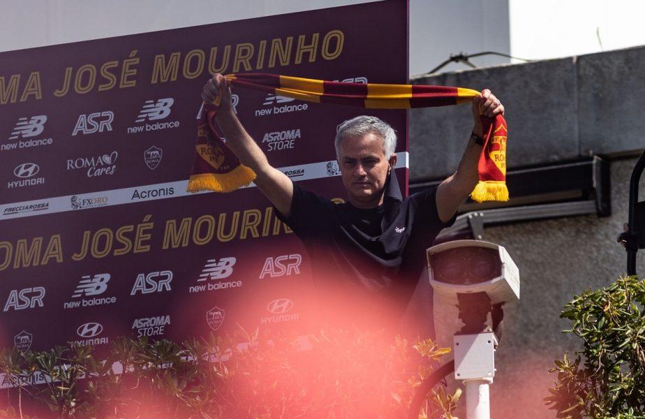 """Jose Mourinho vrea să domine fotbalul italian cu AS Roma: """"Vom sărbători în următorii ani! Voi sări mereu să-mi apăr echipa"""" Ce a spus despre Cristiano Ronaldo"""