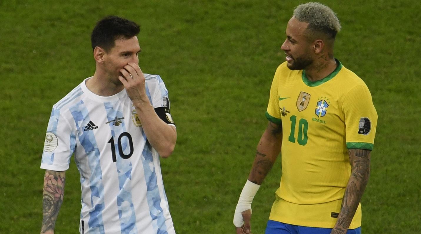 Lionel Messi şi Neymar, îmbrăţişati zeci de secunde