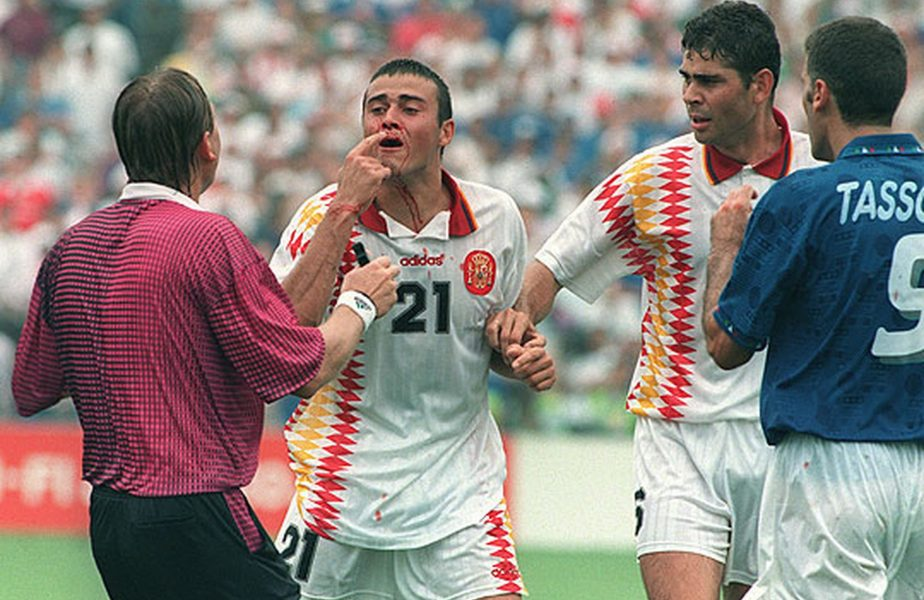 """Italia – Spania: """"I-am pus nasul lui Luis Enrique la loc. Sânge peste tot! Vestiarul, o morgă!"""""""