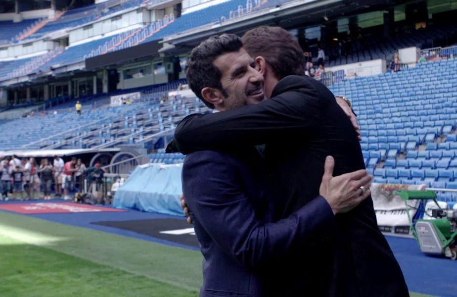 """SuperPrieteni, de Gică Popescu! Adevăratul motiv pentru care Luis Figo s-a retras din cursa pentru preşedinţia FIFA. Ce a răspuns la întrebarea """"Figo sau Cristiano Ronaldo?"""""""