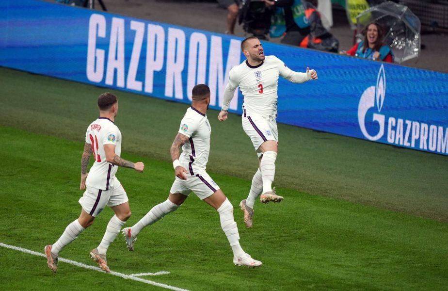 Italia – Anglia | Luke Shaw a declanşat nebunia pe Wembley! Fundaşul a reuşit cel mai rapid gol din istoria EURO. Legendarii Alan Shearer şi Gary Lineker au reacţionat imediat