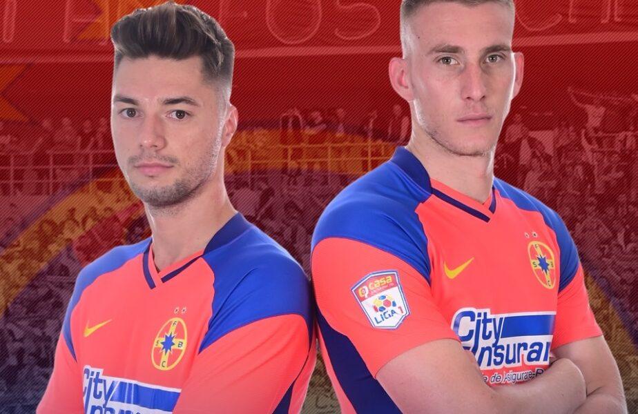 OFICIAL! Ivan Mamut şi Andrei Burlacu au semnat cu FCSB! Primele reacţii ale celor doi jucători aduşi de la Universitatea Craiova