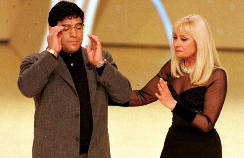 Diego Maradona și prietenia cu Raffaella Carra