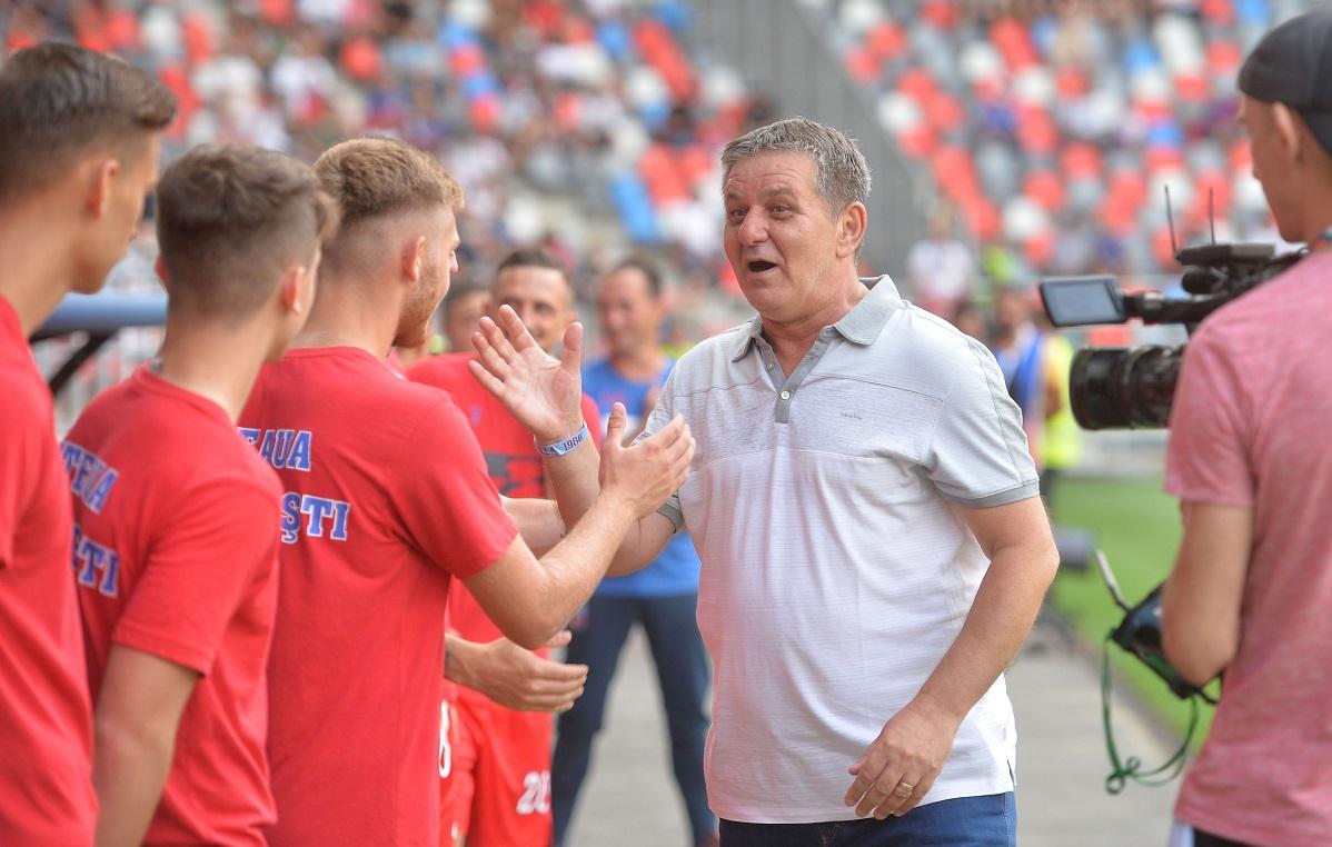 Marius Lăcătuş, la inaugurarea noului stadion Ghencea