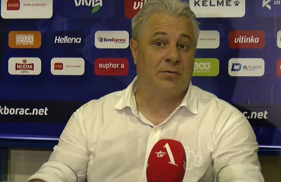Marius Șumudică, la conferința de presă după Borac Banja Luka - CFR Cluj