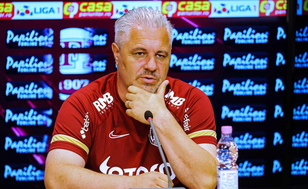 Marius Şumudică, la conferinţă de presă