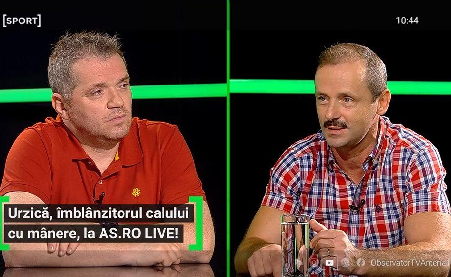 Marius Urzică a fost invitat la AS.ro LIVE