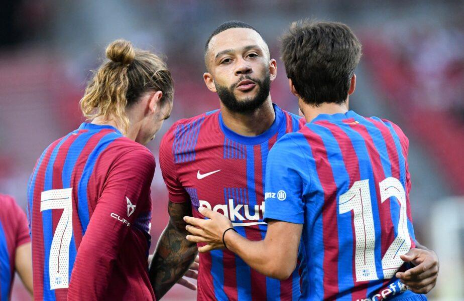 "Barcelona, victorie la scor cu Stuttgart! Memphis Depay a reuşit un gol superb, iar ""Messi al Austriei"" a făcut spectacol + Bayern s-a făcut de râs cu Napoli"