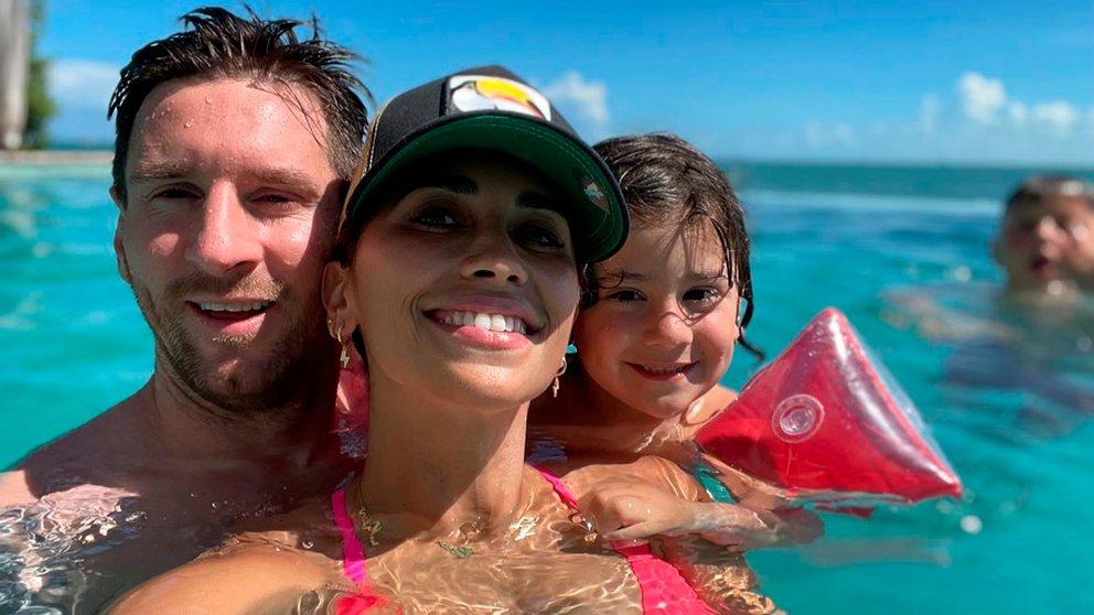 Lionel messi, vacanţă la Miami / Foto: Instagram Lionel Messi