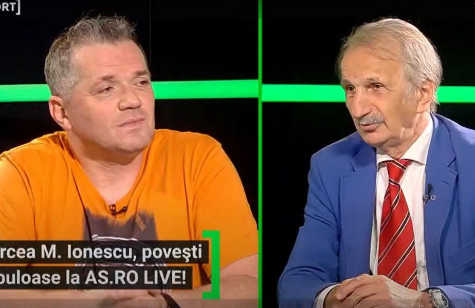 """""""Dumnezeu a făcut să-mi rup o claviculă!"""" Poveştile lui Mircea M. Ionescu, unul din cei mai mari jurnalişti sportivi ai României. """"Am venit în ţară plângând"""""""