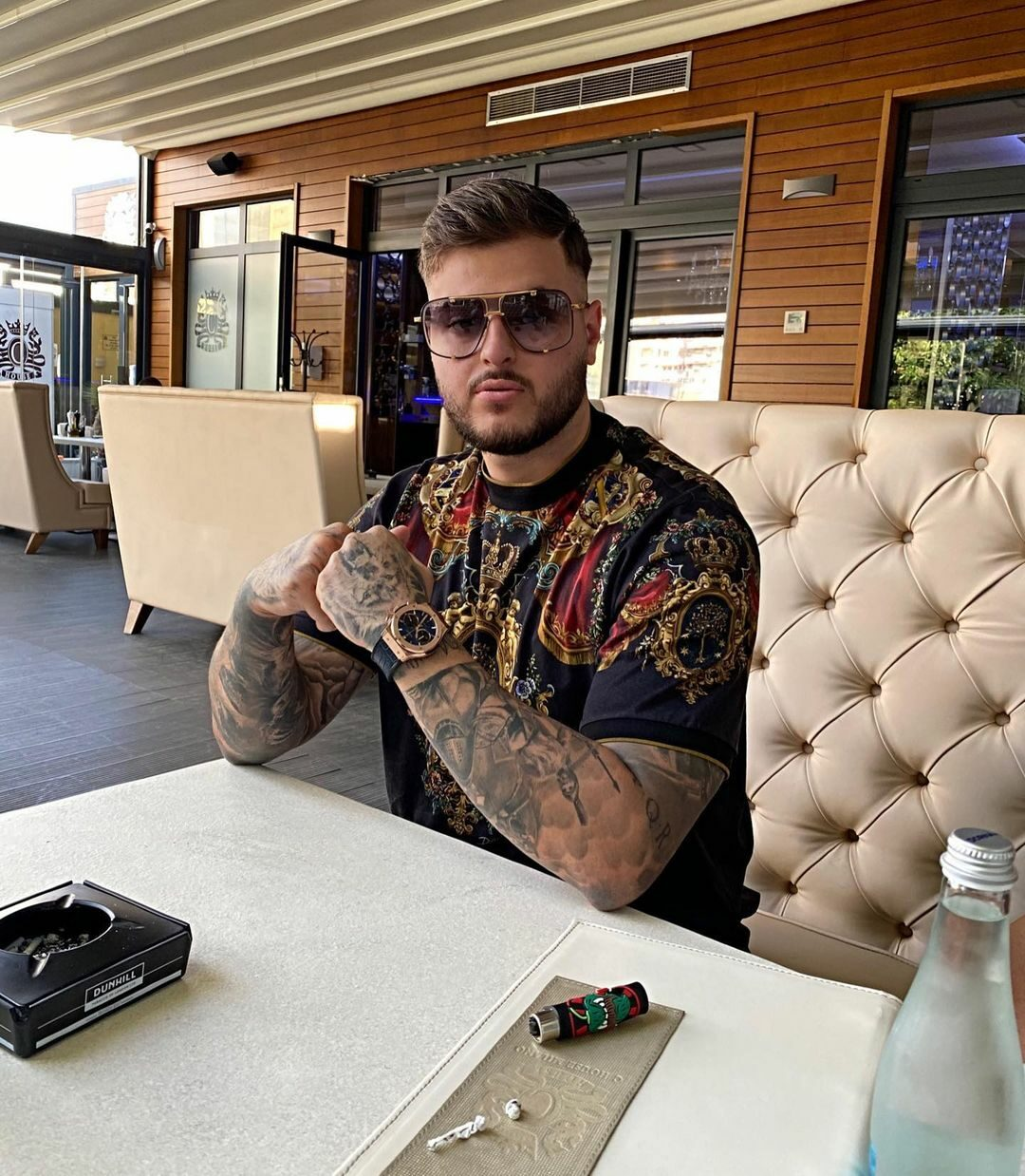 Adrian Mititelu Jr., conflict cu Florin Manea / Instagram Adrian Mititelu Jr.