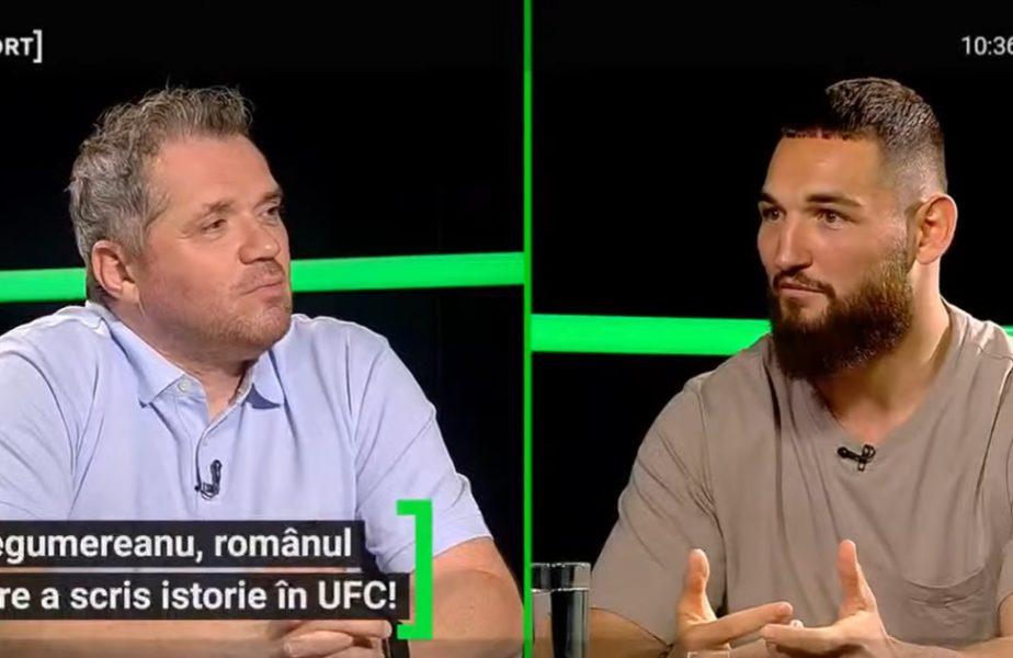 """""""Am avut un şoc când m-am trezit de dimineaţă!"""" Clipele grele prin care a trecut Nicolae Negumereanu, cu 3 luni înainte să scrie istorie în UFC"""