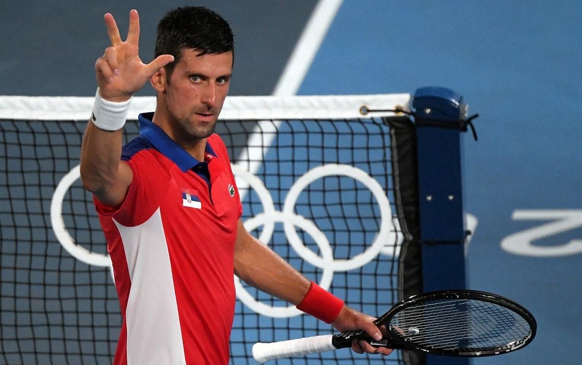 Novak Djokovic, JO 2020