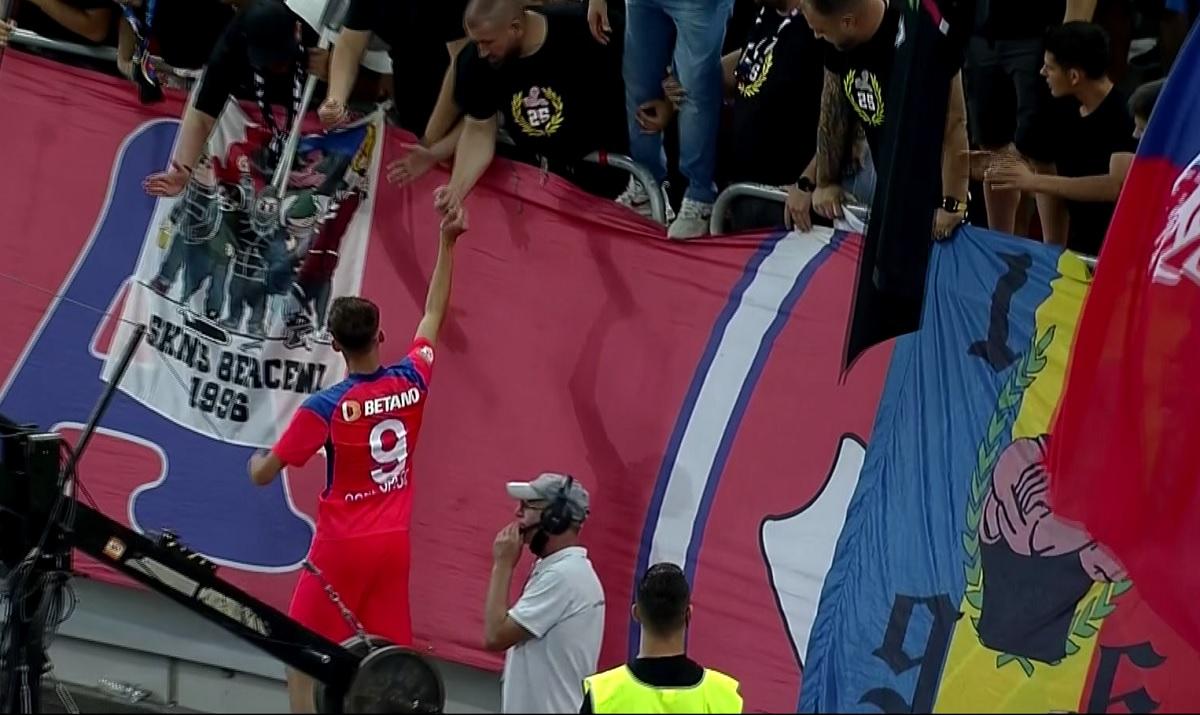 Octavian Popescu, noul idol al fanilor de la FCSB