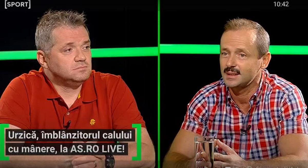 Marius Urzică, la AS.ro LIVE