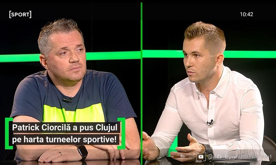 Patrick Ciorcilă a fost invitat la AS.ro LIVE