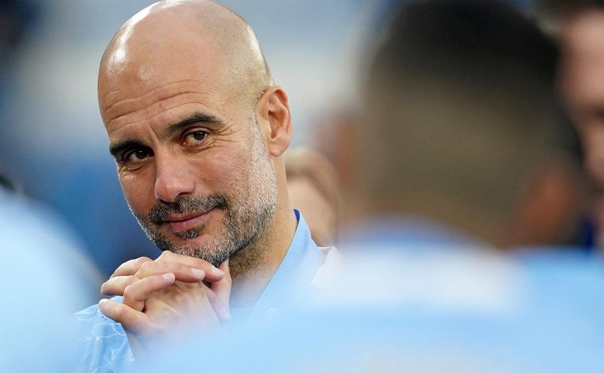 Pep Guardiola, antrenor Manchester City