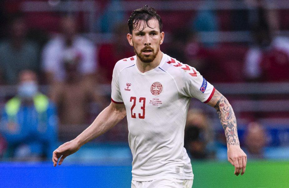 Danemarca – Cehia 2-1 | Hojbjerg a căzut în genunchi şi a început să plângă în hohote, la finalul meciului. Colegii au sărit pentru a-l linişti