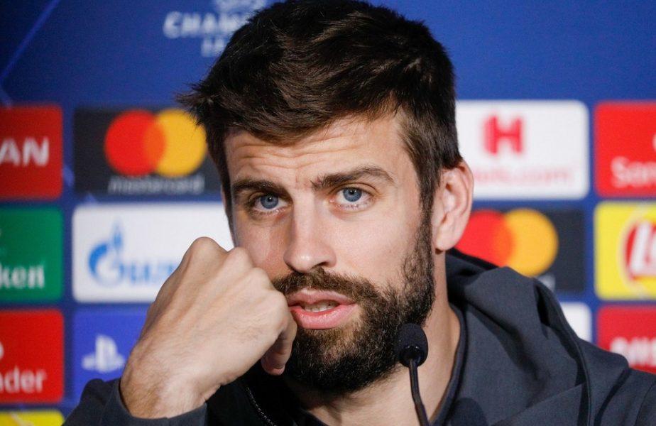 """Gerard Pique vrea să revoluționeze penalty-urile după eliminarea Spaniei de la Euro 2020. """"Sunt foarte crude! Nu mi se pare deloc corect"""". Ce modificare a propus"""