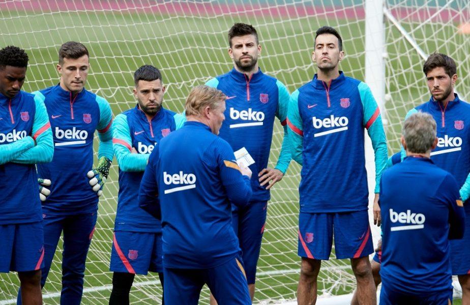 Lovitură pentru Barcelona. Jucătorii refuză reducerea salariilor. Laporta nu are succes nici cu Pique, nici cu Messi!