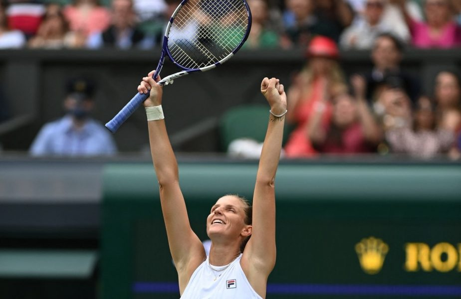Karolina Pliskova, Wimbledon 2021, semifinale
