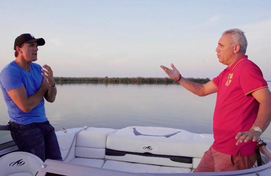 """SuperPrieteni, de Gică Popescu! """"E cel mai frumos loc din lume!"""" Destăinuiri între Popescu şi Stoichkov în Delta Dunării. """"Mă dor urechile de atâta linişte!"""""""