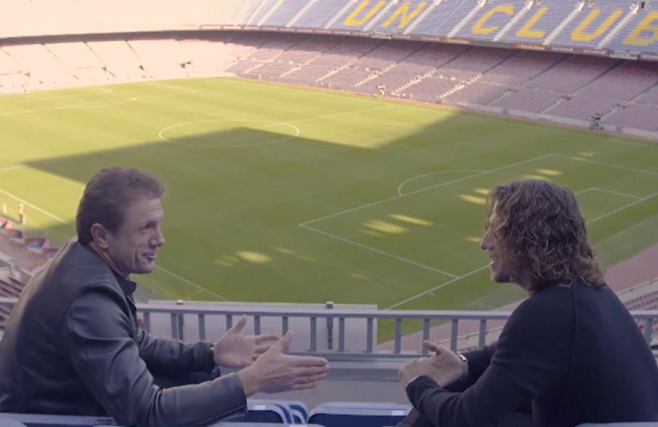 """SuperPrieteni, de Gică Popescu! """"Mi-a plăcut la nebunie de tine!"""" Coincidenţe nebănuite între Popescu şi Carles Puyol. """"Amândoi am început ca portari"""""""