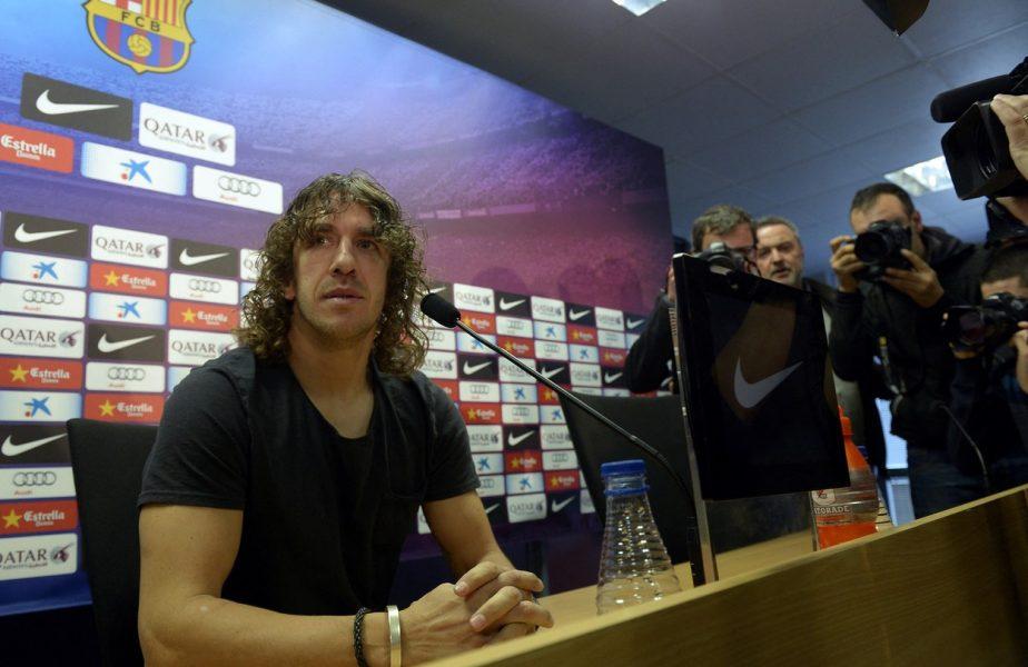 """SuperPrieteni, de Gică Popescu! Marele regret al lui Carles Puyol! """"Tata, înainte să moară, m-a văzut o singură dată jucând un meci!"""""""