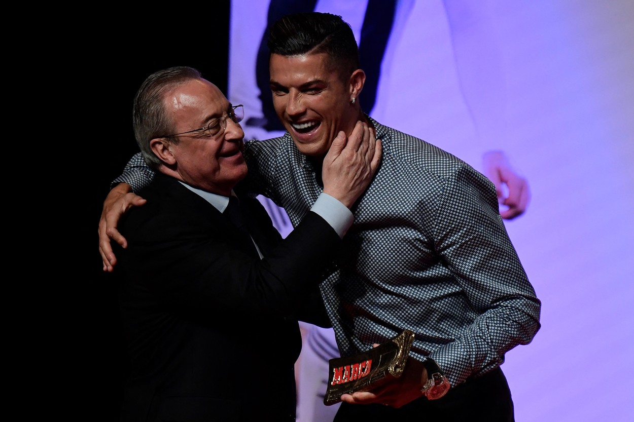 Cristiano Ronaldo şi Florentino Perez