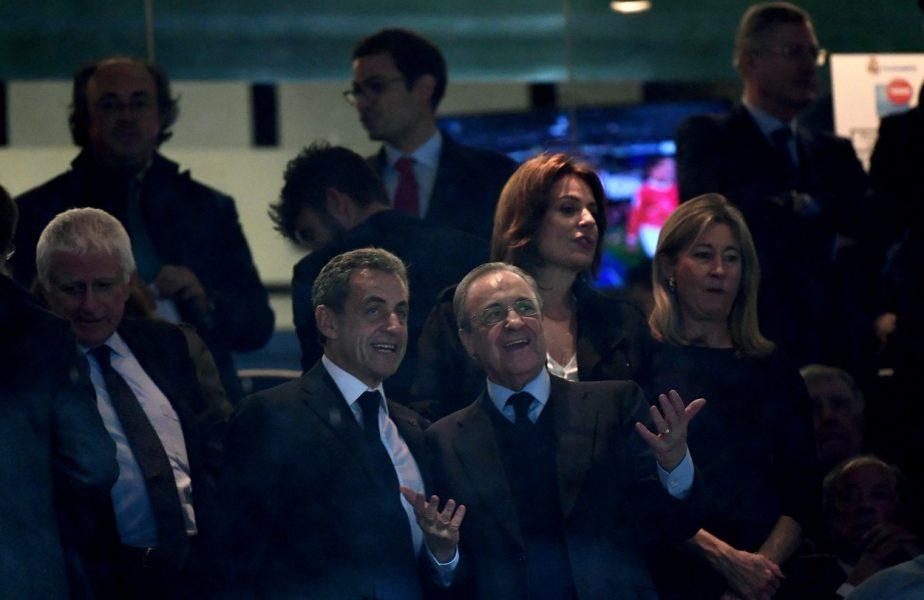 Florentino Perez şi Nicolas Sarkozy