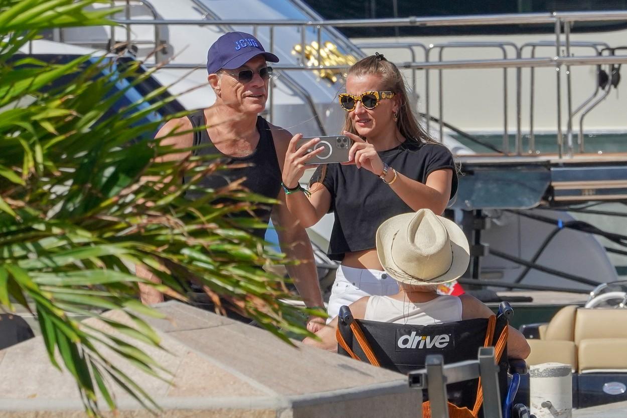 Jean Claude Van Damme şi Eliana Van Varenbergh