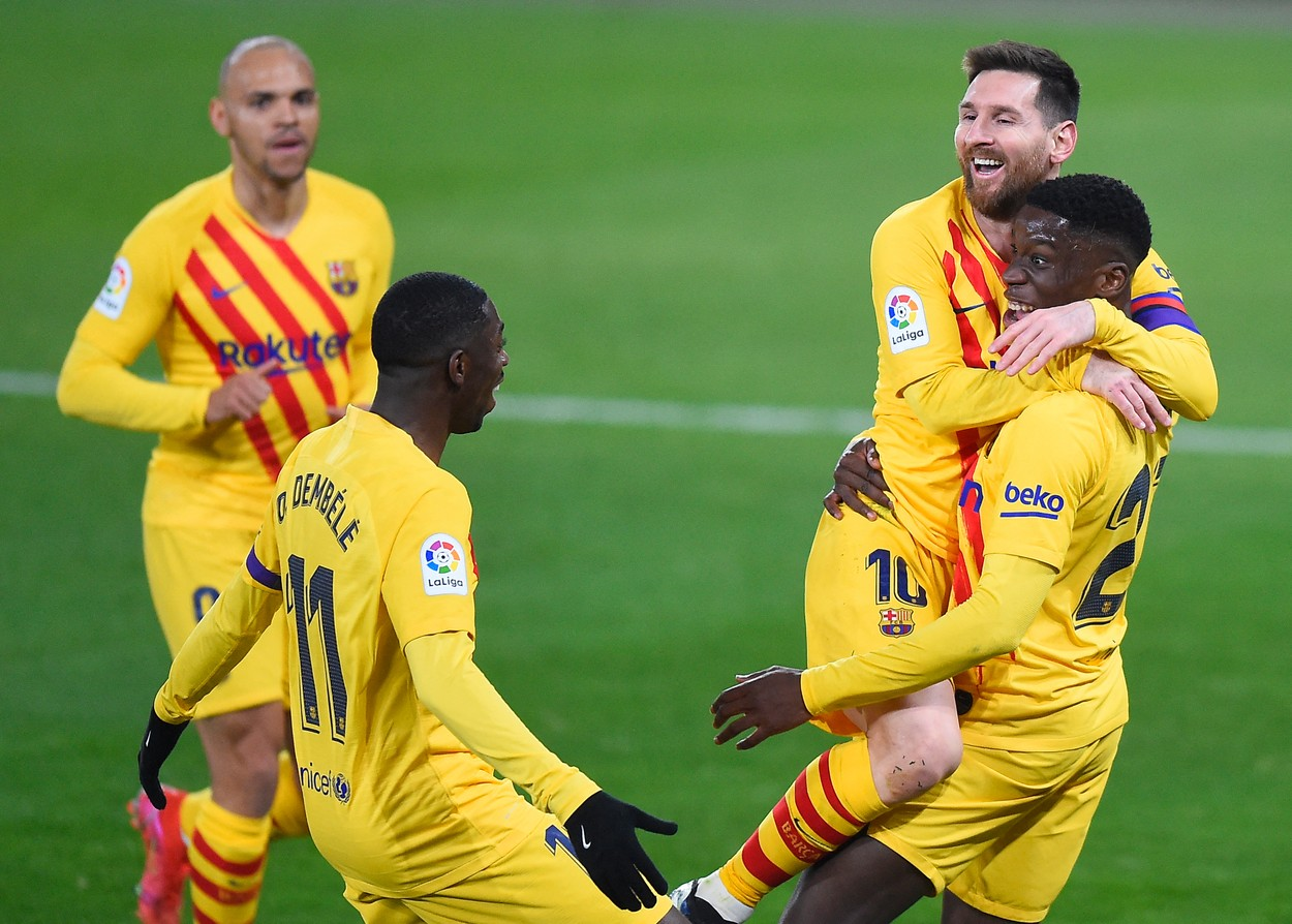 Ilaix Moriba a strălucit alături de Lionel Messi în sezonul trecut, la Barcelona