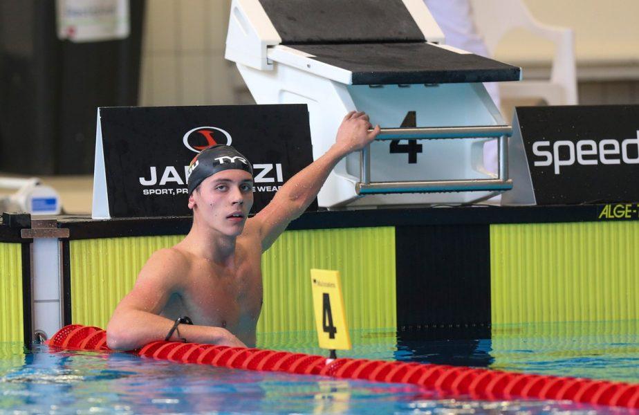 David Popovici s-a calificat în finala de la 200 de metri