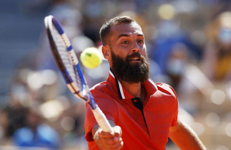 Benoit Paire a reuşit lovitura anului în tenis! Mingea s-a întors în terenul lui, spre uluiala adversarului