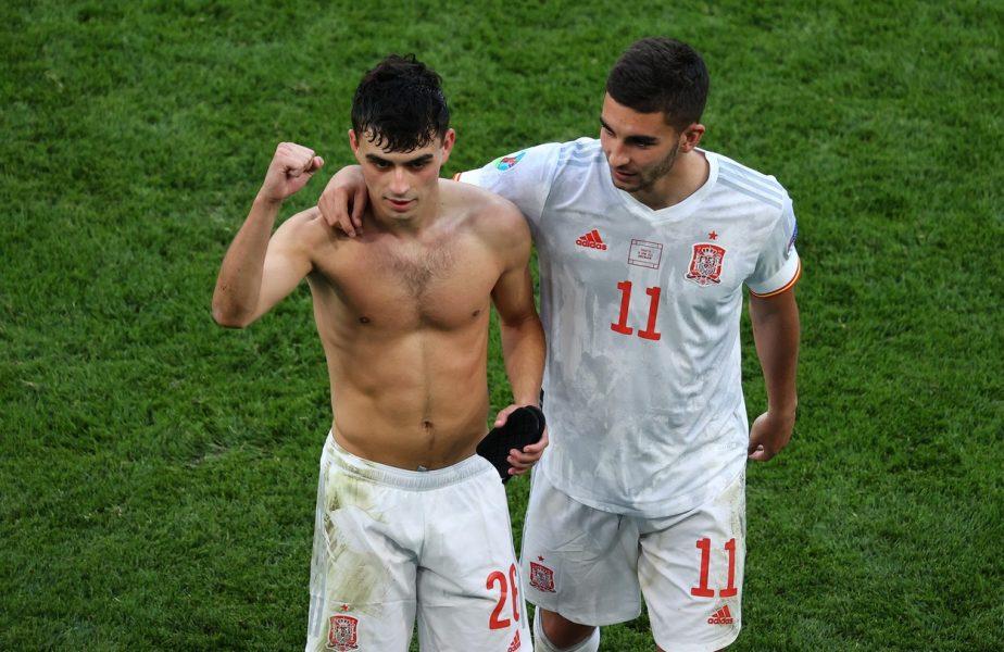 Pedri, Euro 2020